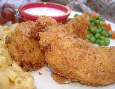 Homemade Chicken Strips, a blog. | Food | Pinterest
