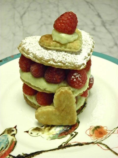 Raspberry Napoleons | NAPOLEONS RECIPES | Pinterest