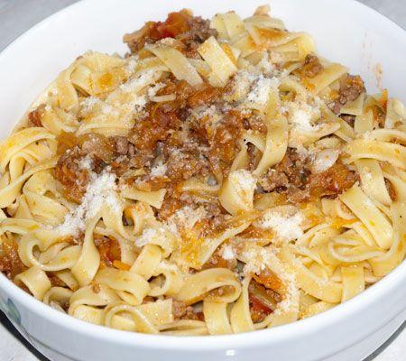 Fettuccine Bolognese Recipes — Dishmaps