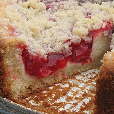Cherry Cream Cheese Coffee Cake | Yummy Deserts | Pinterest