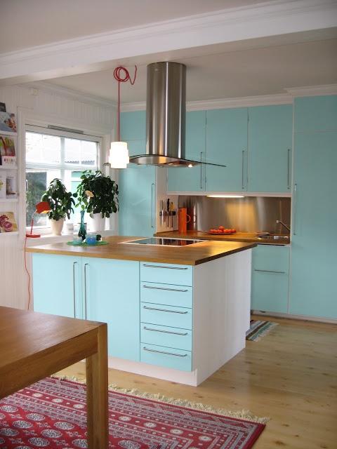 turquoise kitchen  Kitchens  Pinterest