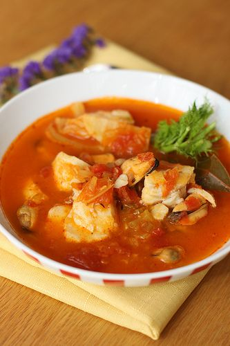Easy Bouillabaisse ..... yummy for a fall day!