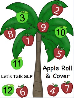 Apple Roll and Cover {Freebie}