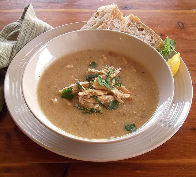 Avgolemono from Cooking Light Magazine, January/February 2012 | Recipe