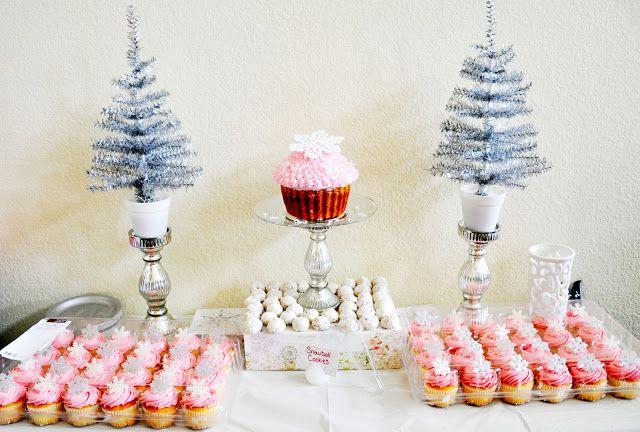 Winter onederland first birthday party ideas
