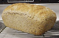 Light Oat Bread No-Knead Loaf Recipe | Comfort Food | Pinterest