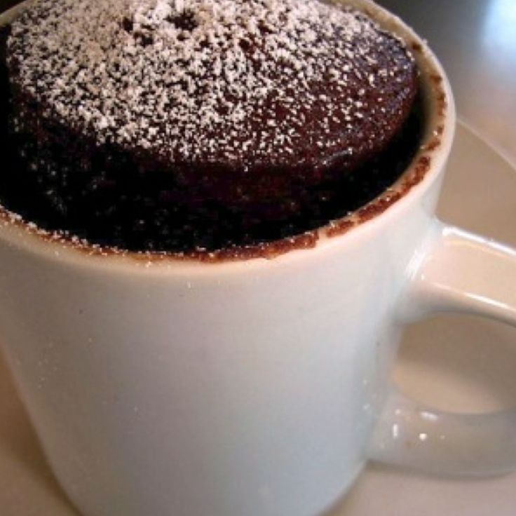Minute Chocolate Mug Cake | Food - Cakes & Pies | Pinterest