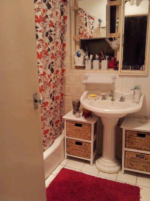 Bathroom Storage Pedestal Sink : Small bathroom, pedestal sink storage Bathroom Ideas Pinterest