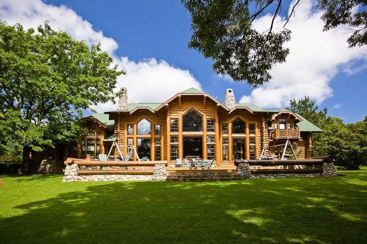 Beautiful Log Home Log Cabins And Furniture Pinterest