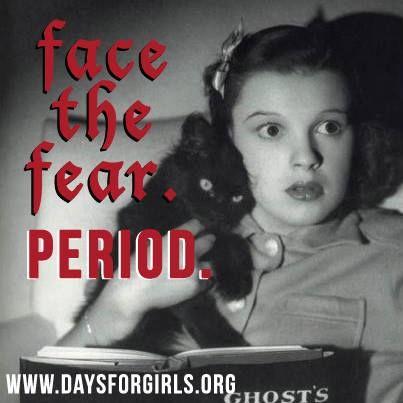 humans fear of menstruation