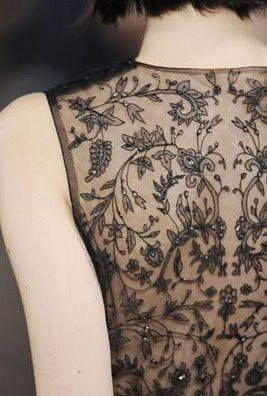 Lace detailing