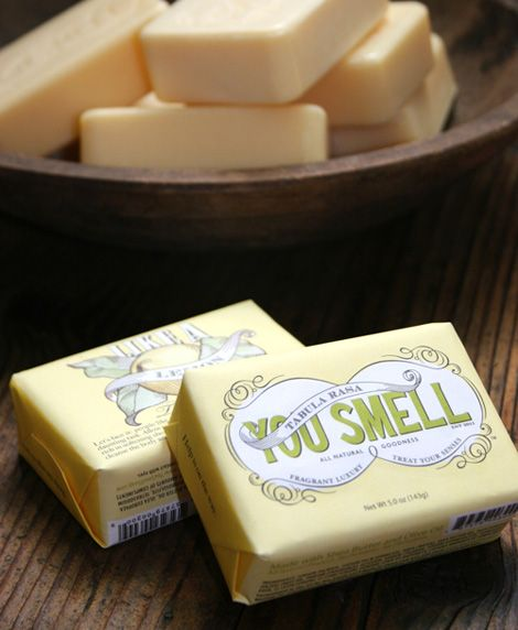 """""""you smell"""" soap #packaging"""
