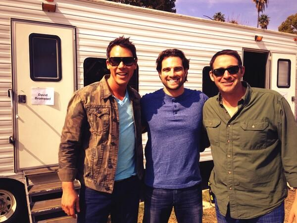Working on a new project for @HGTV with @david bromstad  and Josh Temple - stay tuned for details