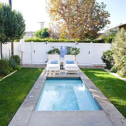 Plunge pool pools pinterest for Garden plunge pool