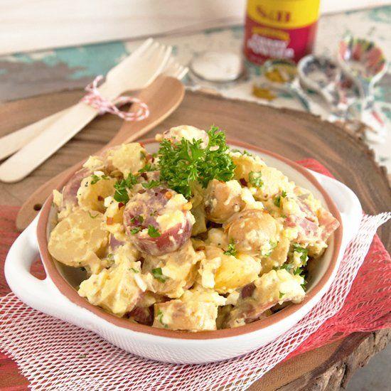 Curried Potato Salad | Potatoes | Pinterest