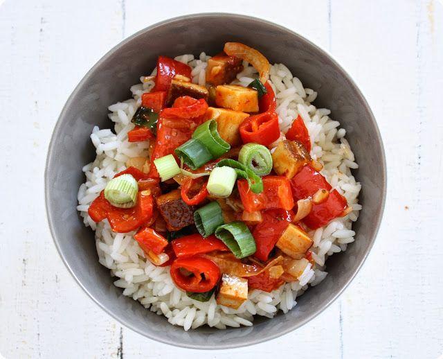 Kung Pao Tofu | The Vegetarian Diaries