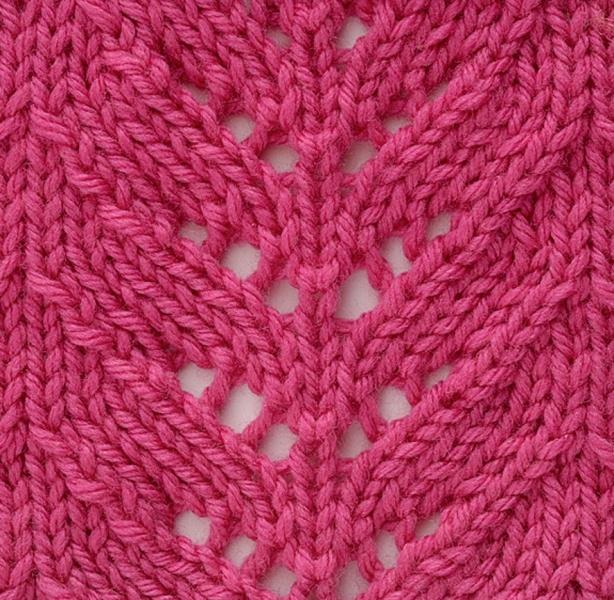 Knitting Stitch Shell : Shell lace pattern stitch Knit Stitches Pinterest