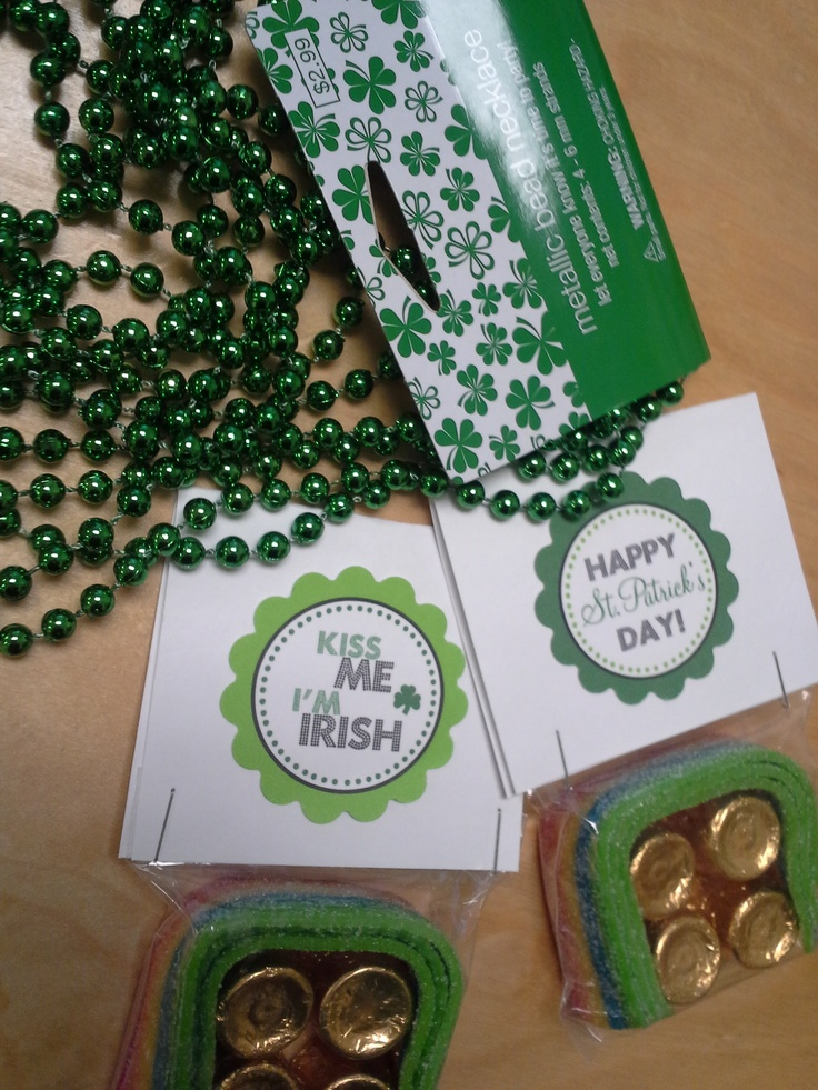 St Patrick 39 S Day Party Gifts My Classroom Pinterest