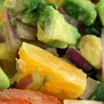 Shrimp Tostadas with Avocado Salsa | Delicious | Pinterest