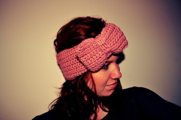 Super Cute Crochet Headband Tutorial!!! Craft Inspiration Pintere ...