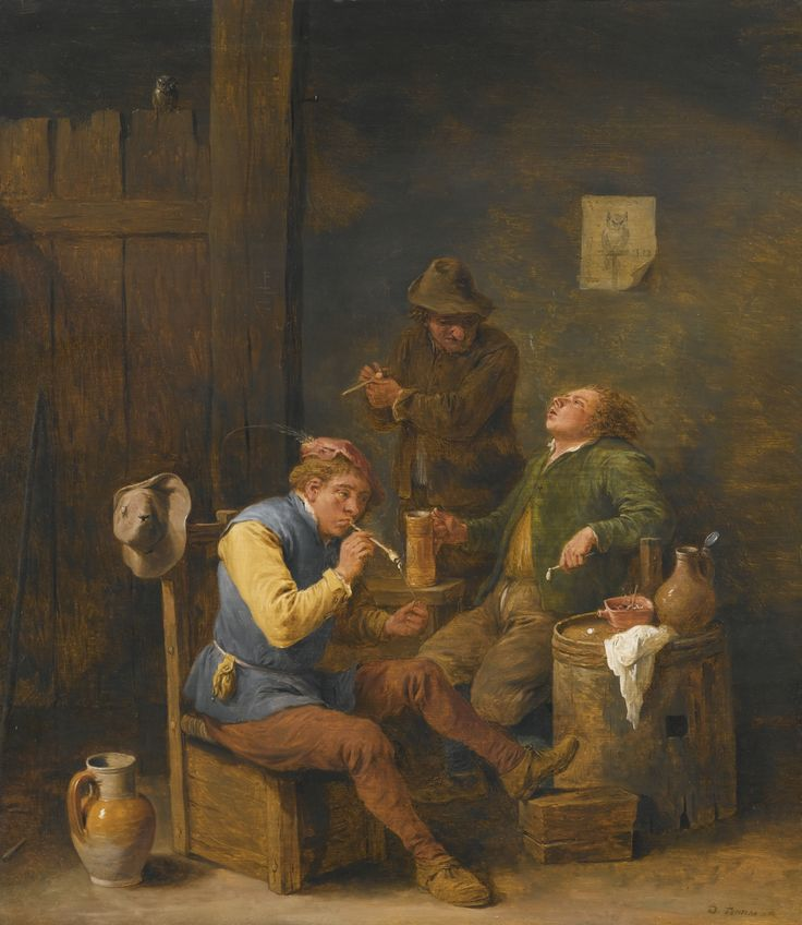 David Teniers the Younger, 1610-1690 | Old Tom Tavern | Pinterest: pinterest.com/pin/499758889873443421