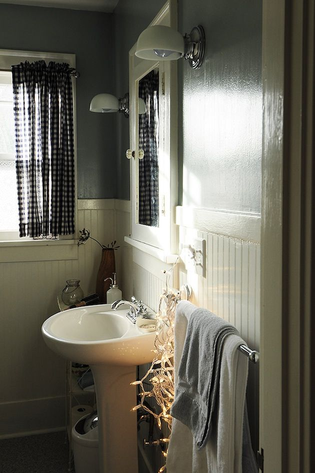 String Lights In Bathroom : bathroom string Lighting awesome ideas Pinterest