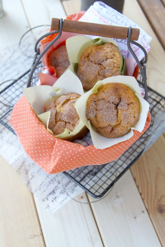... Muffins crujientes de boniato y canela (Cinnamon-Crunch Sweet potato