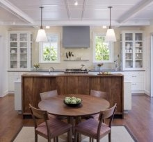 clean kitchen design.