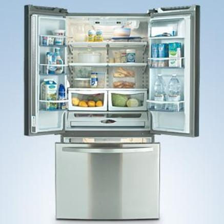 Bottom Freezer Refrigerator $500