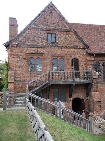 Hatfield House Banqueting Hall - childhood home of Elizabeth I