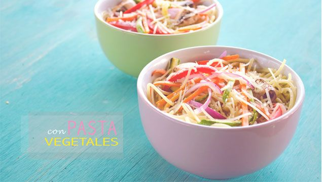 PASTA CON VEGETALES | Chef Oropeza