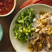 Slow Cooker Mexican Pork Burrito Bowls : The Official Key Ingredient ...