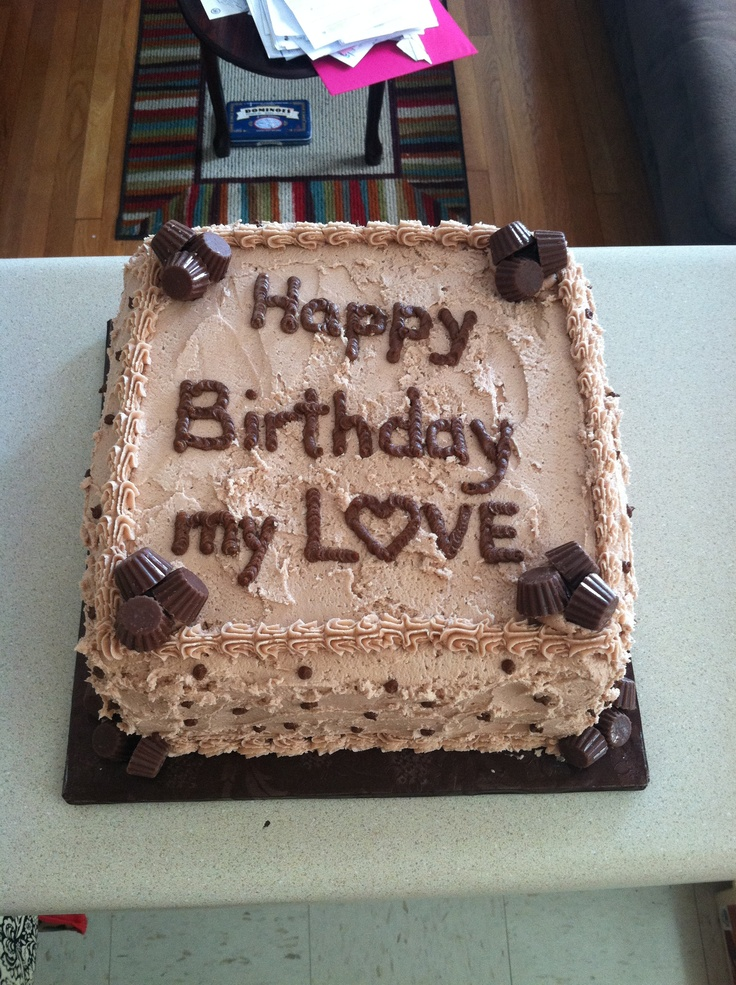Birthday Cake Pictures For Him : Chocolate Birthday Cake for HIM Sweet Thangs by Me ...