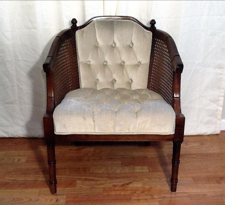 Soft velvet amp cane chair cane back redo pinterest