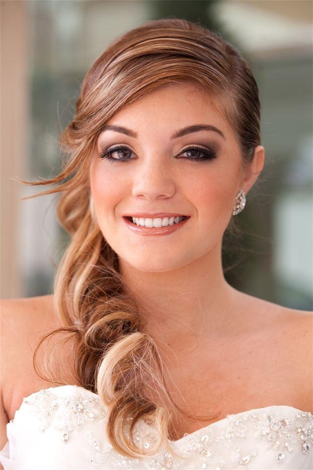 Smokey Eye Wedding Makeup Looks : Smokey Eye Bridal Makeup Sharons Wedding Pinterest