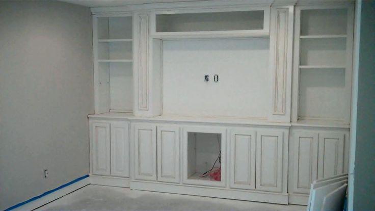built ins for tv wall basement ideas pinterest