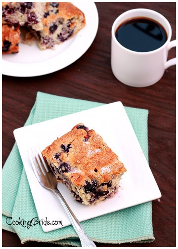 Blueberry Buttermilk Coffee Cake @Anna Totten Totten Hamilton Ashley
