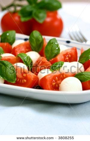 tricolore salad - Google Search | Scrumdiliumpscious | Pinterest