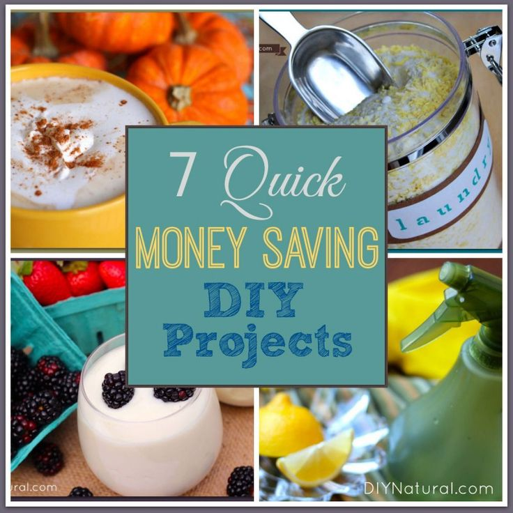 Cool things to make at home that save money for Easy stuff to make at home
