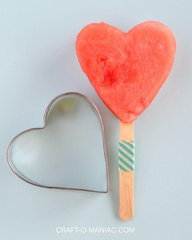 watermelon heart pops