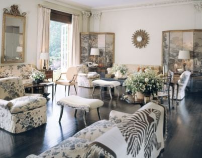 Veranda Magazine Living Room 1 Pinterest