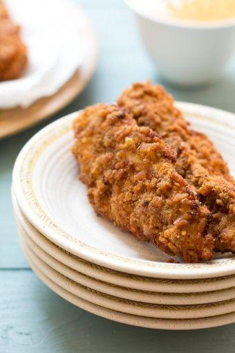 Pretzel Fried Chicken by dramaticpancake #Chicken #Fried_Chicken #Pretzel #dramaticpancake