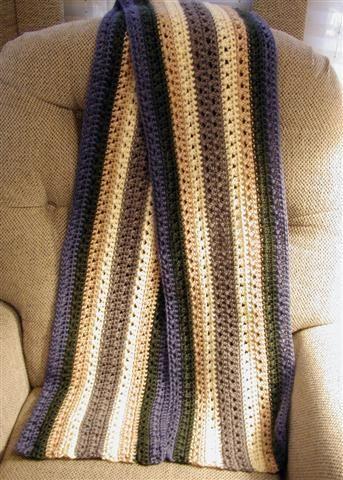 Crochet Patterns - Men's Scarves - Seeking Patterns
