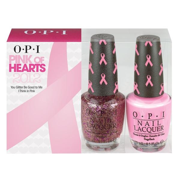 OPI Pink of Hearts 2012 DuoOpi Pink Of Hearts 2012