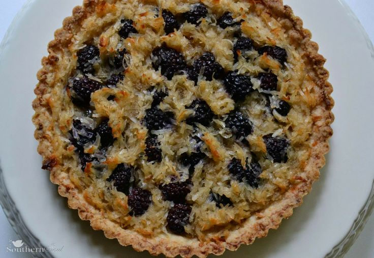 Southern Soul: Blackberry Coconut Tart | My favorite treats | Pinte ...