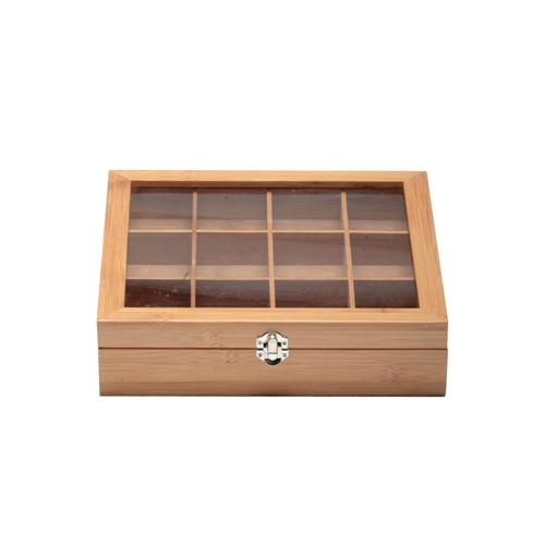Our Bamboo Tea Chests are a great way to showcase the different varieties of tea you have available.