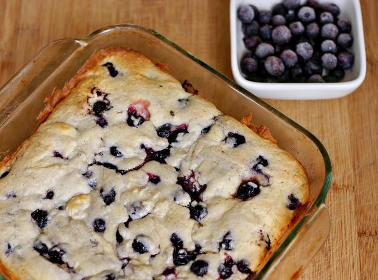 Buttermilk Blueberry Breakfast Cake | Yummy | Pinterest