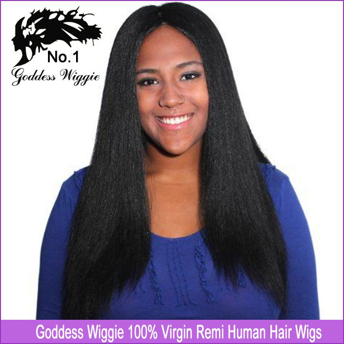 ... updo wigs!Glueless full lace human hair wigs straight #1jet black