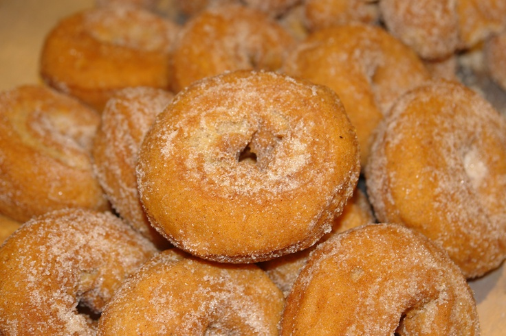 Hot off the rack... Apple Cider Donuts from www.StewLeonards.com