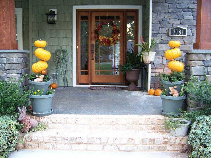 Main entrance door Halloween decorations  Holidays  ~ 062849_Halloween Door Entrance